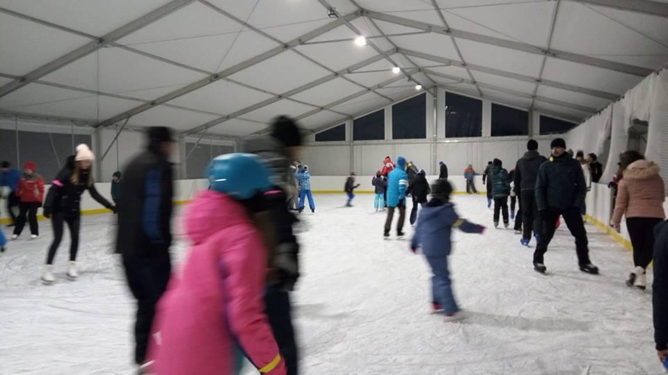 Verejné korčuľovanie Hnilčík Mraznica